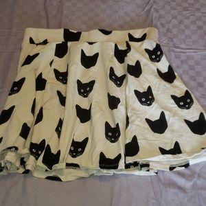 Cat skirt.